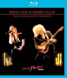 Brian May & Kerry Ellis: The Candlelight Concerts: Live At Montreux 2013, 1 Blu-ray Disc und 1 CD