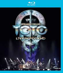 Toto: 35th Anniversary Tour: Live In Poland 2013, Blu-ray Disc