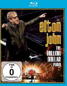 Elton John: The Million Dollar Piano, Blu-ray Disc