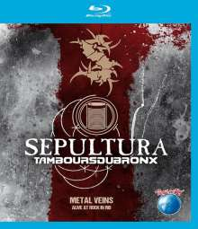Sepultura: Metal Veins: Alive At Rock In Rio 2013, Blu-ray Disc