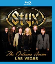 Styx: Live At The Orleans Arena Las Vegas, Blu-ray Disc