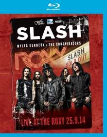 Slash: Live At The Roxy 25.9.14, Blu-ray Disc