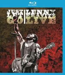 Lenny Kravitz: Just Let Go - Live 2014, Blu-ray Disc
