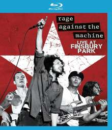 Rage Against The Machine: Live At Finsbury Park 2010, Blu-ray Disc