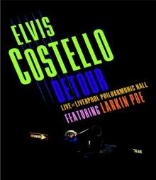 Elvis Costello: Detour: Live At Liverpool Philharmonic Hall 2015, Blu-ray Disc
