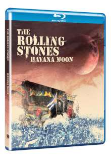 The Rolling Stones: Havana Moon, Blu-ray Disc