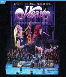 Heart: Live At The Royal Albert Hall, Blu-ray Disc
