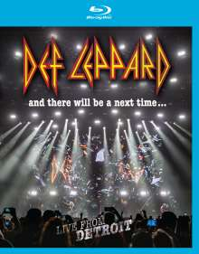 Def Leppard: And There Will Be A Next Time ... Live From Detroit, Blu-ray Disc
