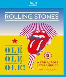 The Rolling Stones: Olé Olé Olé! A Trip Across Latin America 2016, Blu-ray Disc