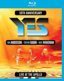 Yes: Live At The Apollo: 50th Anniversary, Blu-ray Disc
