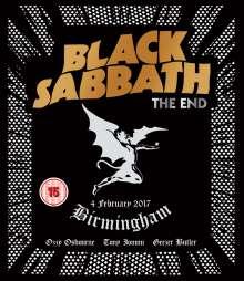 Black Sabbath: The End: Live In Birmingham, Blu-ray Disc