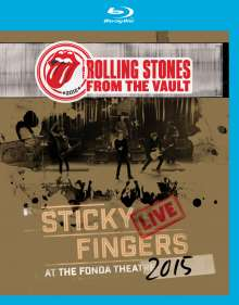 The Rolling Stones: From The Vault: Sticky Fingers – Live At The Fonda Theatre 2015, Blu-ray Disc