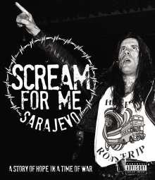 Bruce Dickinson: Scream For Me Sarajevo, Blu-ray Disc