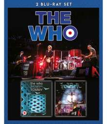 The Who: Sensation: The Story Of Tommy / Tommy: Live At The Royal Albert Hall 2017, 2 Blu-ray Discs