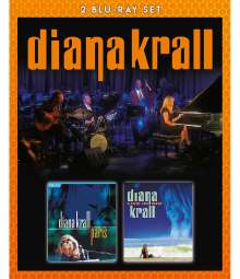 Diana Krall (geb. 1964): Live In Paris 2001 / Live in Rio 2008, 2 Blu-ray Discs