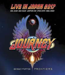 Journey: Escape & Frontiers: Live In Japan 2017, Blu-ray Disc