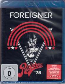 Foreigner: Live At The Rainbow '78, Blu-ray Disc