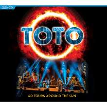 Toto: 40 Tours Around The Sun, 2 CDs und 1 Blu-ray Disc