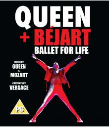Queen & Maurice Béjart: Ballet For Life (Deluxe Edition), Blu-ray Disc