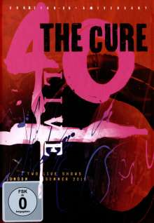 The Cure: 40 Live - Curætion 25 - Anniversary (Limited Edition), 2 Blu-ray Discs