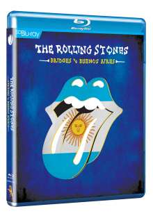 The Rolling Stones: Bridges To Buenos Aires (SD Blu-ray), Blu-ray Disc