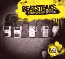 Beatsteaks: Kanonen auf Spatzen - 28 Live Songs (2CD + DVD), 2 CDs