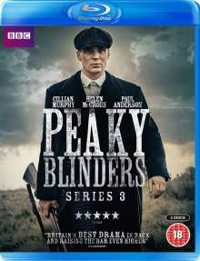 Peaky Blinders Season 3 (Blu-ray) (UK Import), 2 Blu-ray Discs