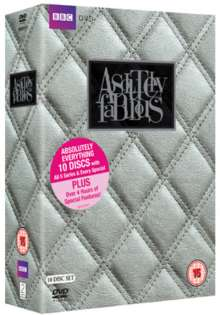 Absolutely Fabulous Season 1-5 (Complete Series) (UK Import), 10 DVDs