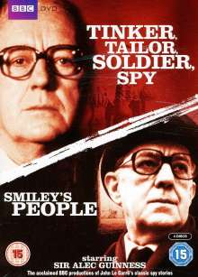 Tinker Tailor Soldier Spy & Smiley's People (UK Import), 4 DVDs