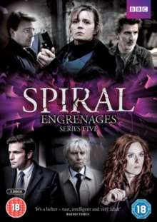 Spiral Season 5 (UK Import), 4 DVDs