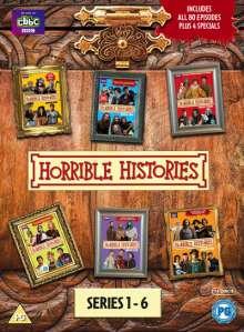 Horrible Histories Season 1-6 (UK Import), 14 DVDs