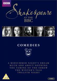 Shakespeare at the BBC: Comedies (UK Import), 5 DVDs