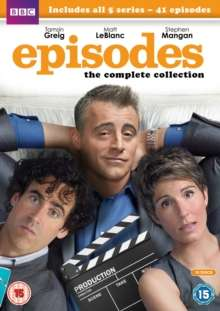 Episodes Season 1-5 (UK Import), 10 DVDs