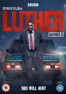 Luther Season 5 (UK Import), 2 DVDs