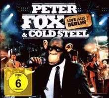 Peter Fox: Peter Fox & Cold Steel: Live aus Berlin (DVD + CD), 2 DVDs
