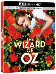 Wizard Of Oz (Ultra HD Blu-ray & Blu-ray im Steelbook) (Import mit deutscher Tonspur), 1 Ultra HD Blu-ray und 1 Blu-ray Disc
