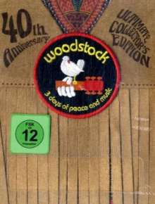 Woodstock (Director's Cut) (Ultimate Collector's Edition), 4 DVDs