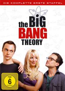 The Big Bang Theory Staffel 1, 3 DVDs