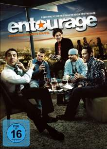 Entourage Season 2, 3 DVDs