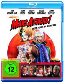Mars Attacks! (Blu-ray), Blu-ray Disc