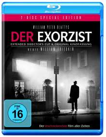 Der Exorzist I (Kinofassung & Ext.Director's Cut) (Blu-ray), 2 Blu-ray Discs