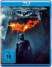 The Dark Knight (Blu-ray), 2 Blu-ray Discs
