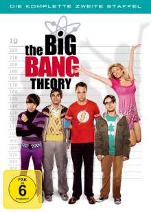 The Big Bang Theory Staffel 2, 4 DVDs