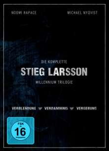 Stieg Larsson Millennium Trilogie, 4 DVDs