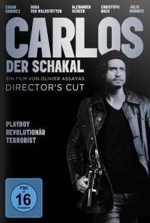 Carlos - Der Schakal (Kinofassung & Extended Version), 4 DVDs