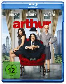 Arthur (2011) (Blu-ray), Blu-ray Disc