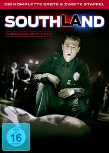 Southland Season 1 & 2, 3 DVDs