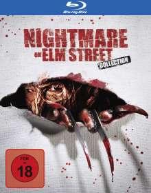 Nightmare on Elm Street Collection (Blu-ray), 4 Blu-ray Discs und 1 DVD