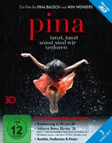 Pina 2D & 3D (Blu-ray) (Deluxe Edition), 3 Blu-ray Discs