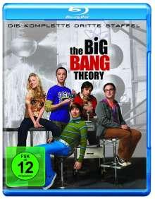 The Big Bang Theory Staffel 3 (Blu-ray), 3 Blu-ray Discs